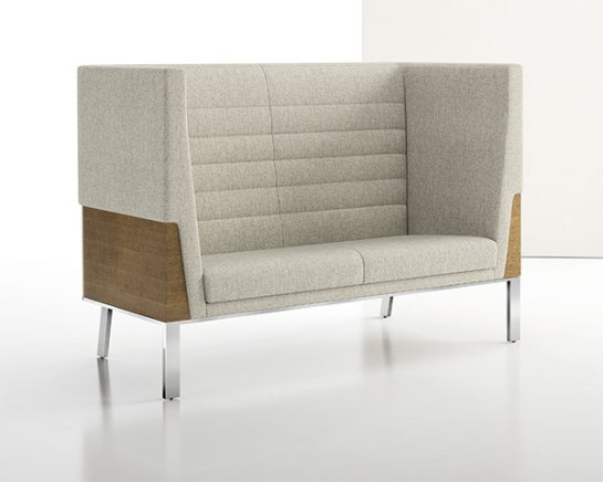 Ava High Back Two Seat Sofa