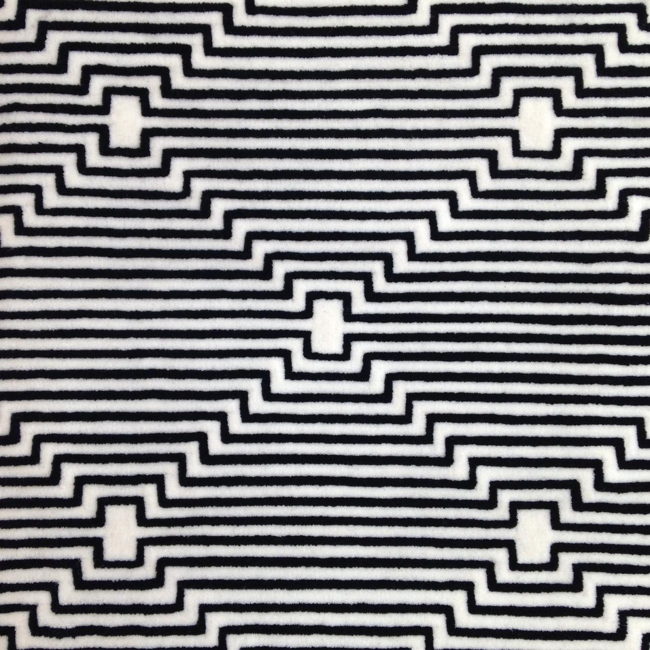 Stark Carpet Black And White Vidalondon