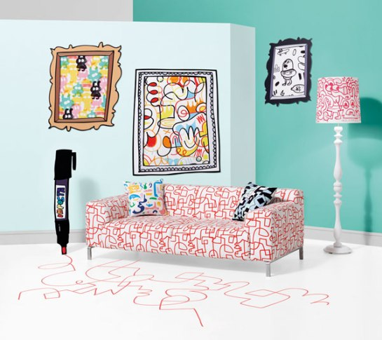 Kirkby Design and Jon Burgerman fabrics